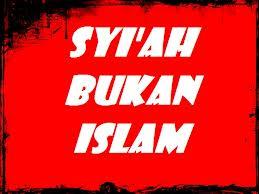 syiah adalah agama baru
