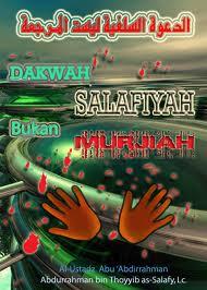 syaikh Ali Hasan seorang syaikh salafy, BUKAN TOKOH MURJIAH