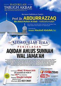 Syaikh Abdurrazzaq 15 maret 2015